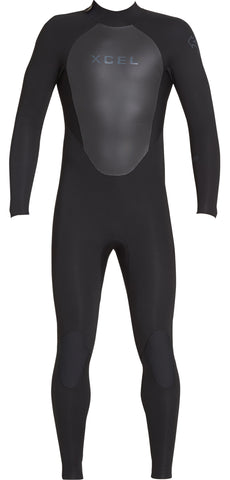 Xcel Axis Back Zip Fullsuit 4/3mm Wetsuit