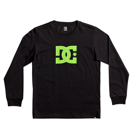 DC Star Youth Long Sleeve Tee - Ollie Around