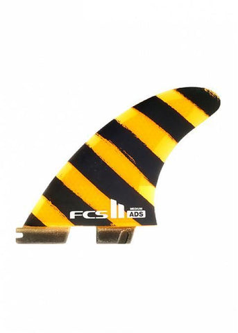 FCS II ADS PC Medium Tri Fin Set