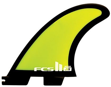 FCS II JW-1 Medium Tri Fin Set