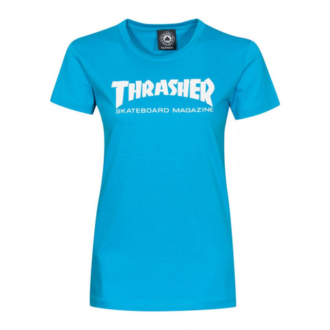 Thrasher Skate Mag Ladies Tee - Ollie Around
