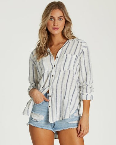 Billabong Easy Moving Woven Long Sleeve