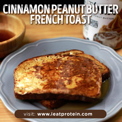 Easiest way to make cinnamon french toast without groundnut
