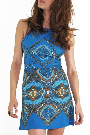 Dolly Dagger Dress - Blue - OOTO
