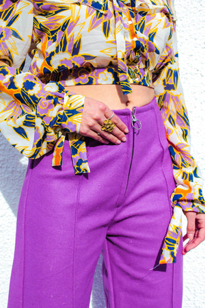 Cloud 9 Pants - Violet - OOTO