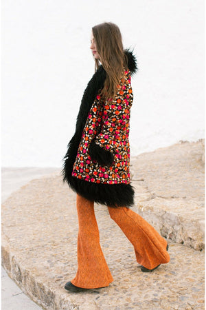 ORLA Black fur Coat
