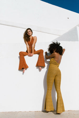 GoGo Jumpsuit - Golden Yellow