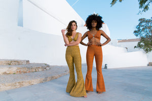 Alba Bell Bottoms - Golden Yellow