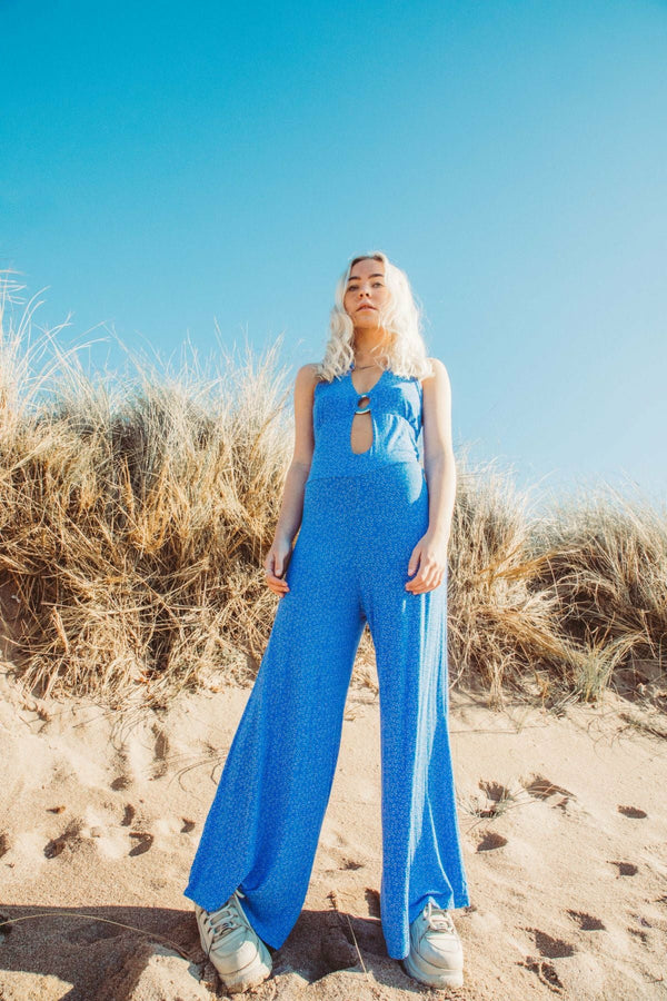 LARA Jumpsuit - Electric blue