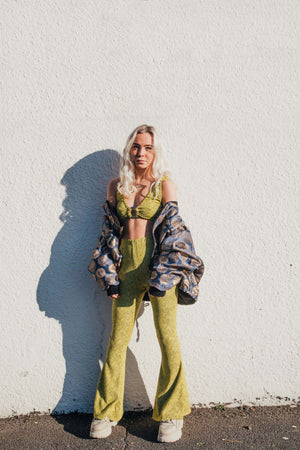 Alba Bell Bottoms - Sunshine Yellow