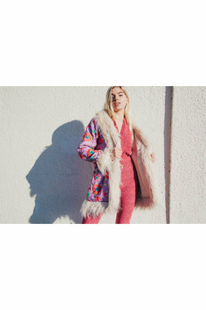 GoGo Jumpsuit - Hot Pink