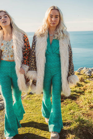 GoGo Jumpsuit - Mint Green