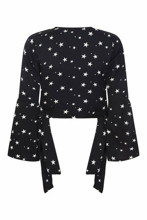 Divina Star Wrap Top - OOTO