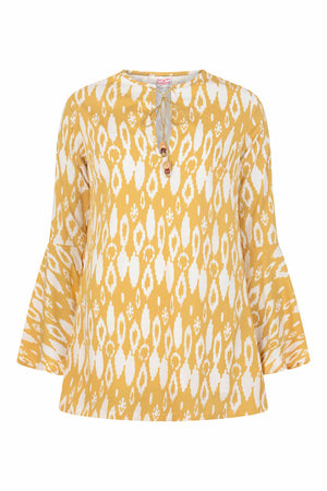 Aleta Dress - Yellow - OOTO