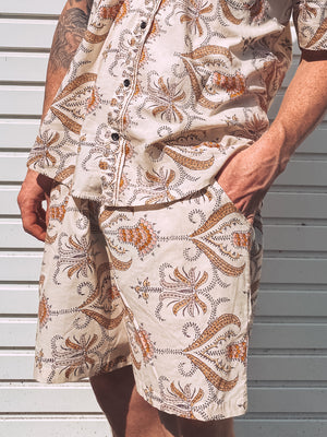 Paisley Mens Shorts