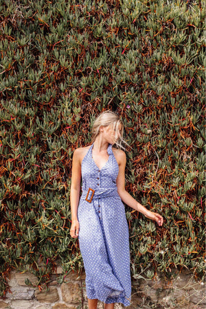Farrah Jumpsuit - Blue