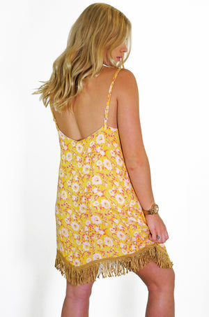 Easy Rider Dress - Pink/Gold - OOTO