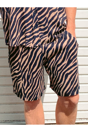 Zebra Mens Shorts