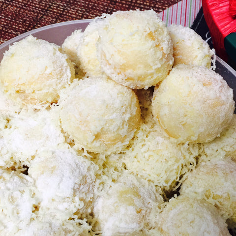 cheese ensaymada balls party size (pick-up only)