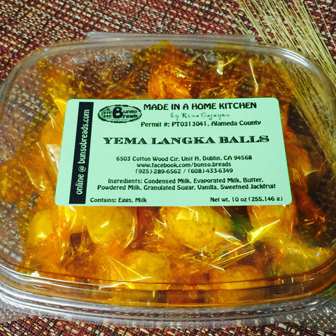 yema langka balls (pick-up only)
