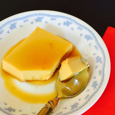 "leche flan 7"" round (pick-up only)"