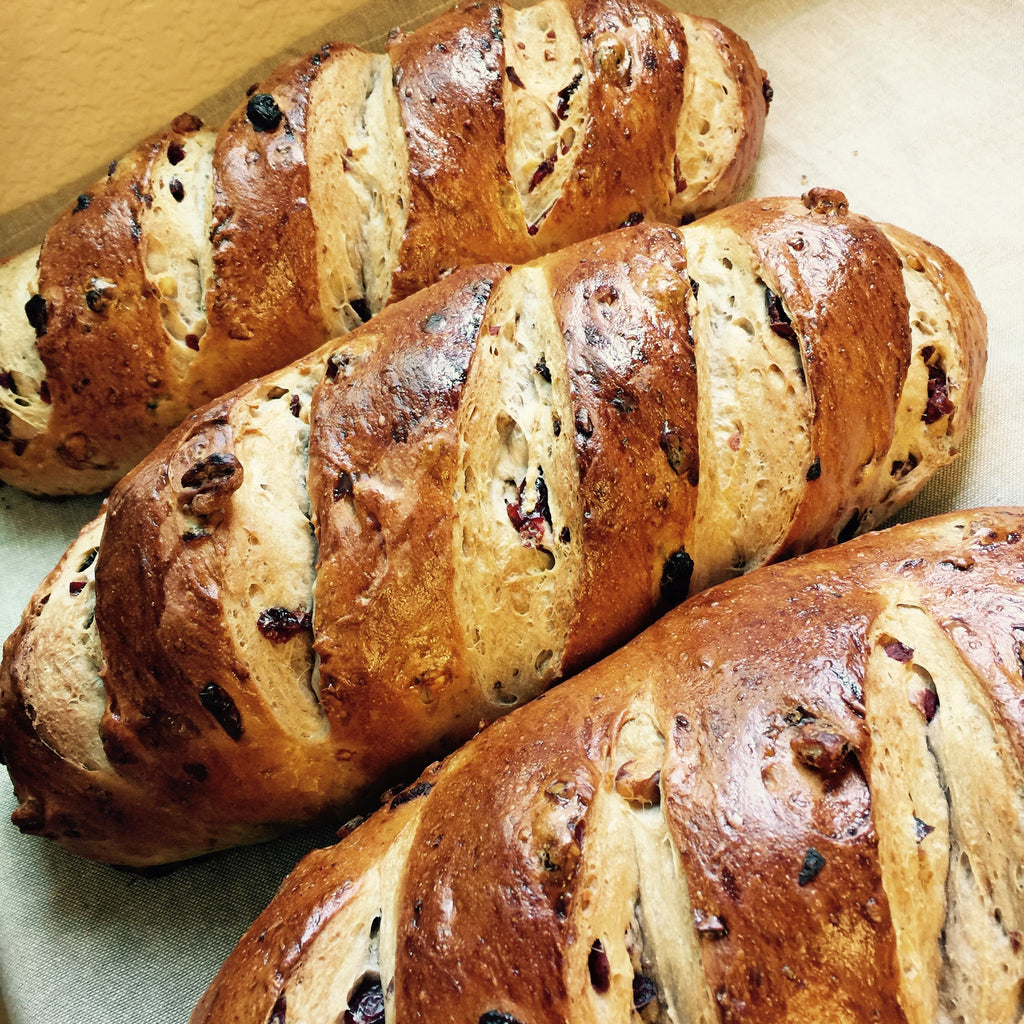cranberry raisin walnut bread minimum 2 orders (pick-up only)