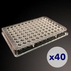 Nexcelom Cellaca MX High-throughput Automated Cell Counter Plates 3x8 Orientation- CHM24-B100-004