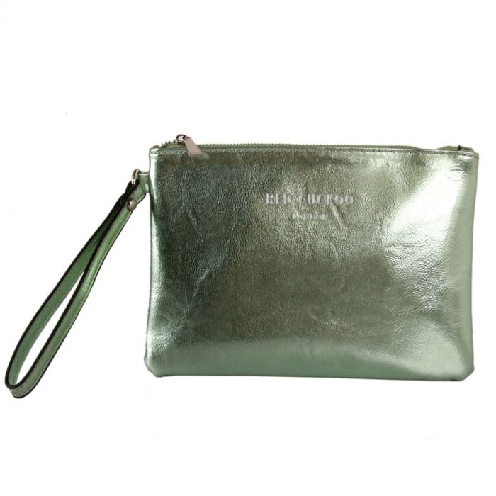 Metallic purse with Strap, VARIOUS COLOURS - Red Cuckoo