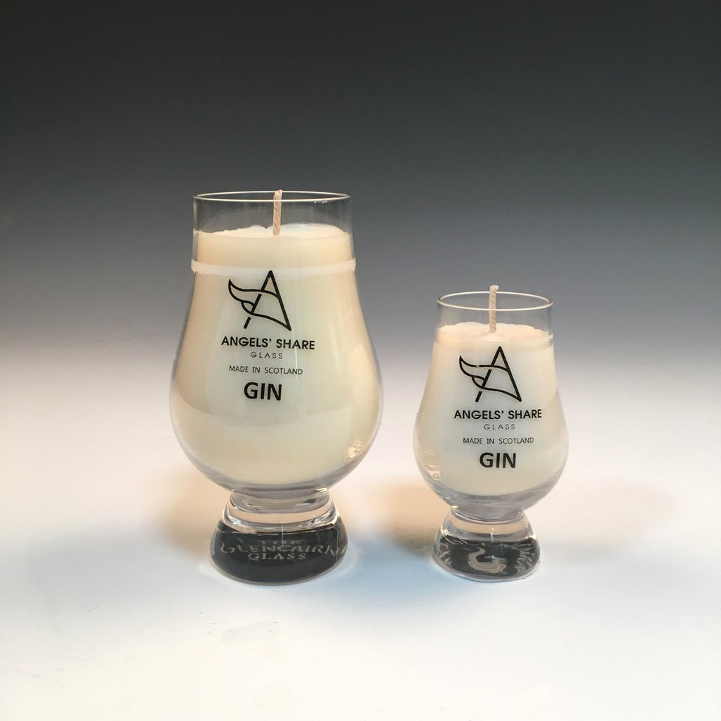 Gin Candle - Angels' Share Glass