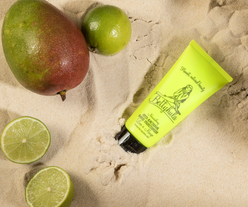 Nourishing Anti-Bacterial Hand Cream, Lime & Mango - BETTY HULA