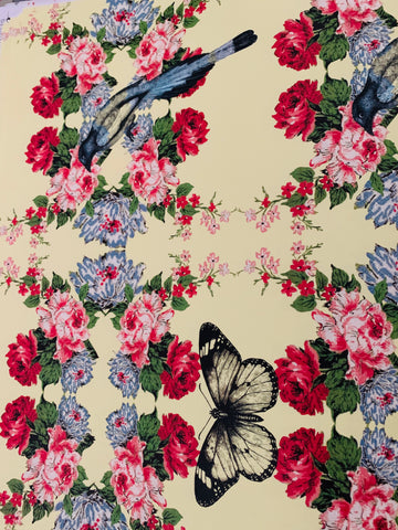 Butterfly & Bird Gift Wrap - MULTI