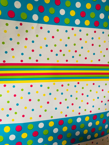 Spots & Stripes Wrapping Paper - Multi