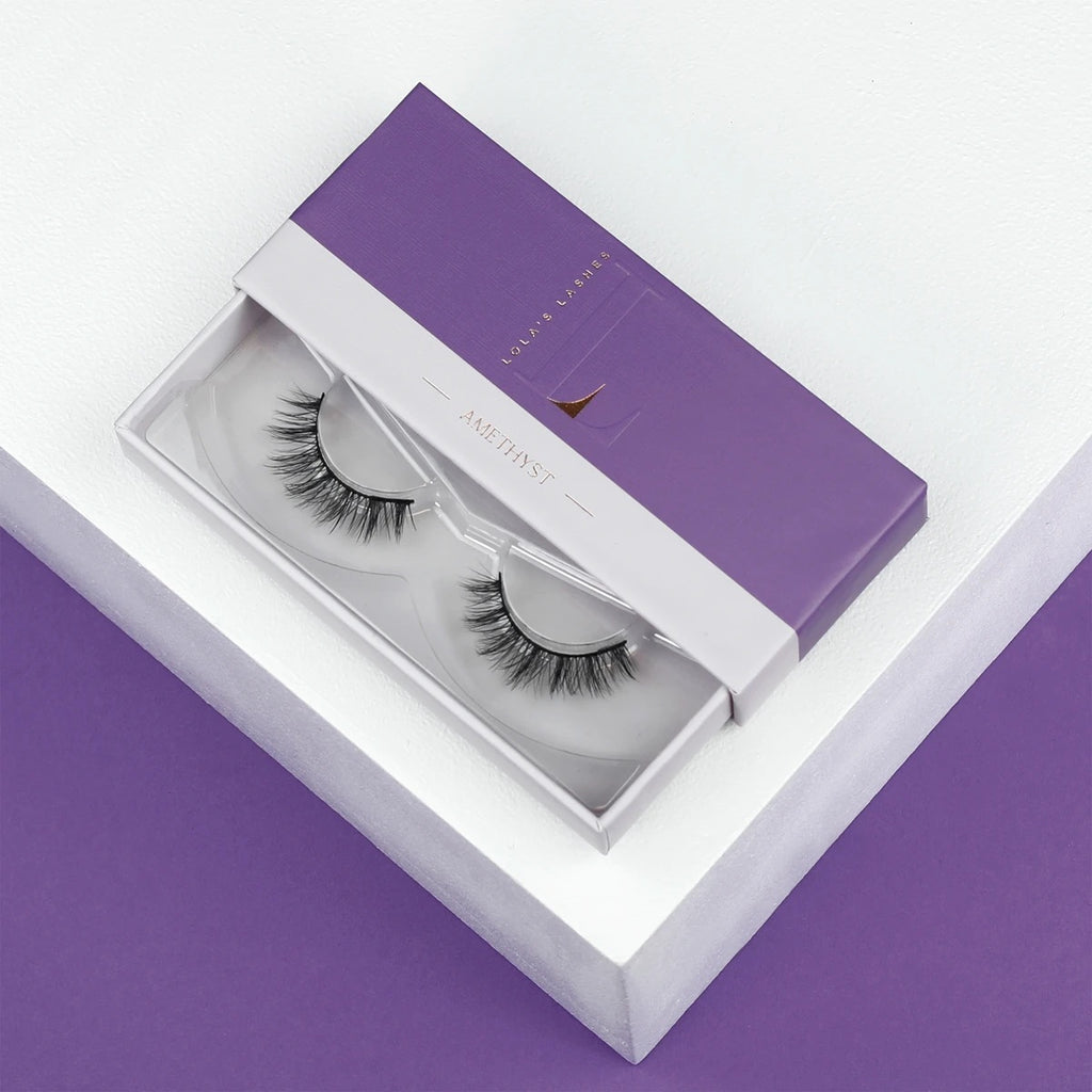 Amethyst Magnetic Eyelashes