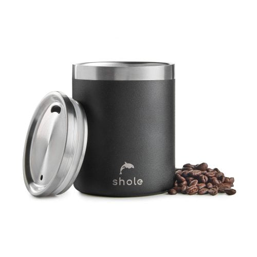 Insulated Coffee Cup, Grey - SHOLE