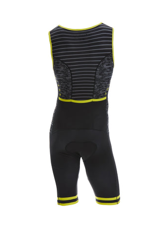 Volare Mens Camo Sleeved Aero Tri Suit