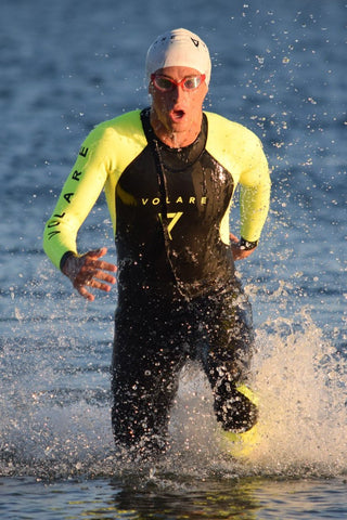 V2 Sleeveless Mens Triathlon Wetsuit