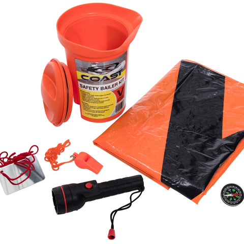 Safety Bailer Kit With V-Sheet