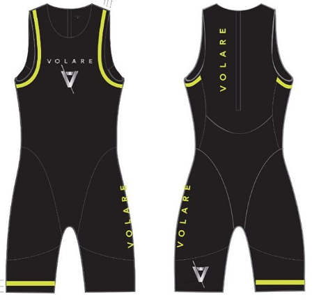 Triathlon Swim Skin Volare Mens