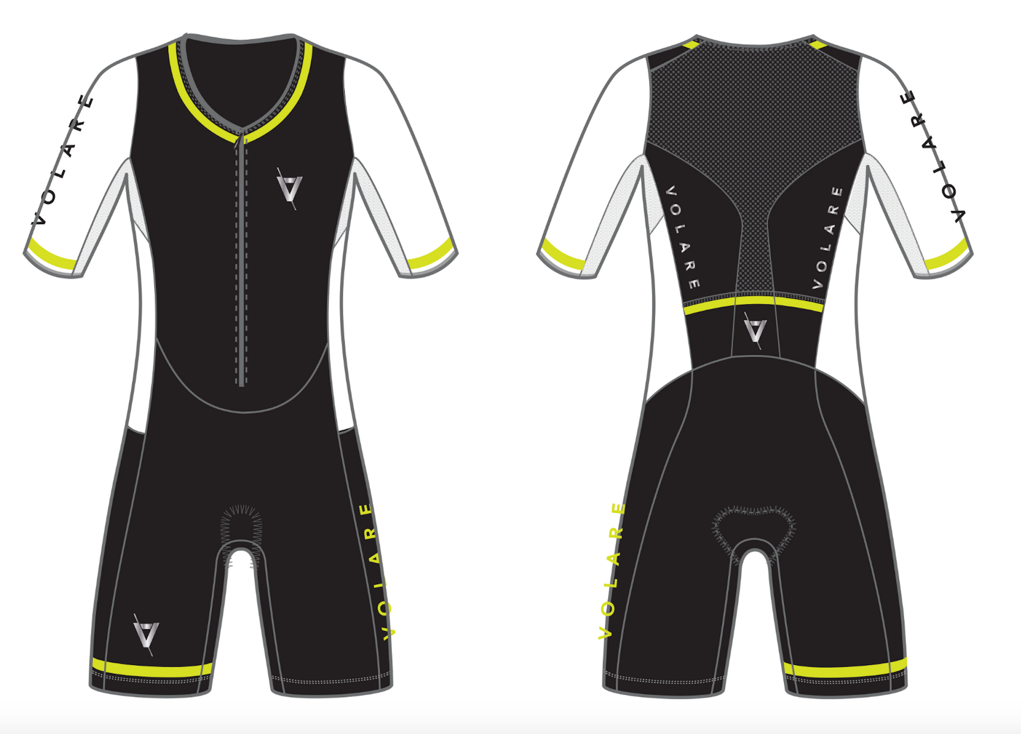 Volare Sleeved Tri Suit