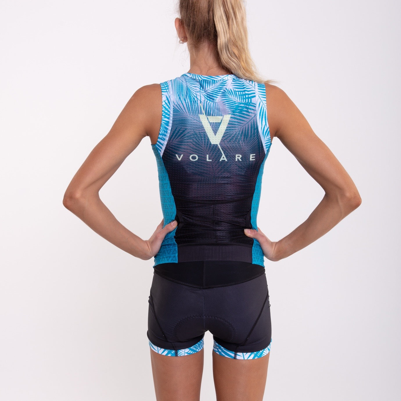 Volare Womens Palms Hipster Tri Short