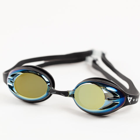Volare Kirra Socket Goggle - Black / Gold Mirror