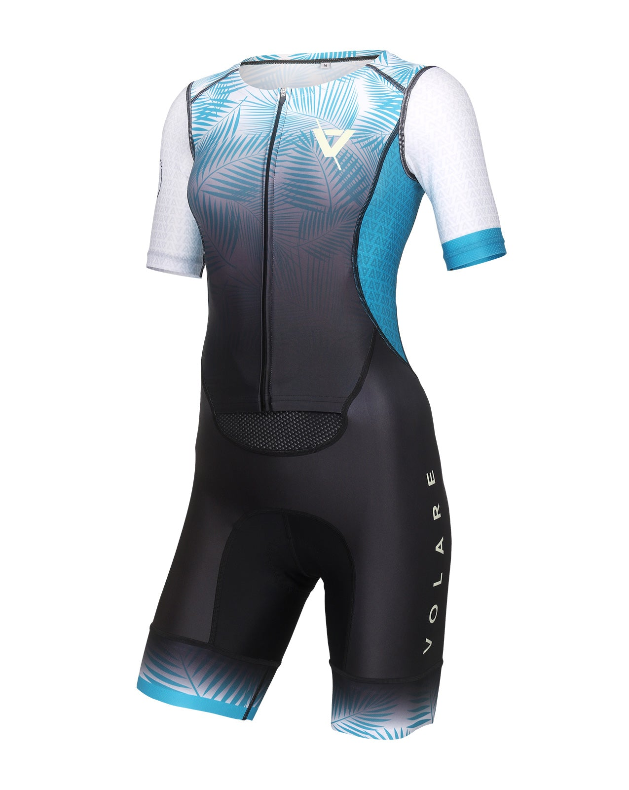 Volare Womens Palms Sleeved Tri Suit