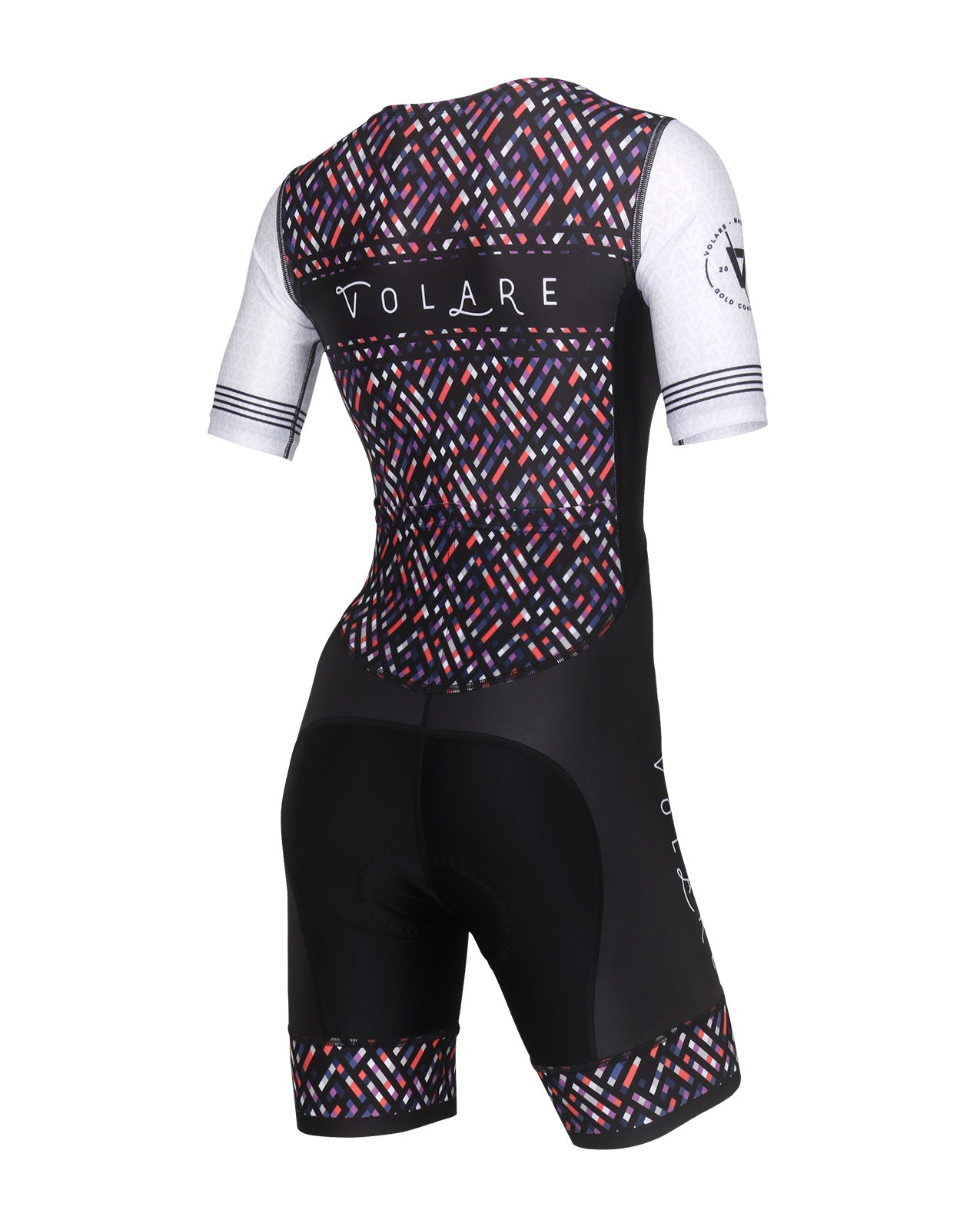 Volare Womens Vintage Sleeved Tri Suit
