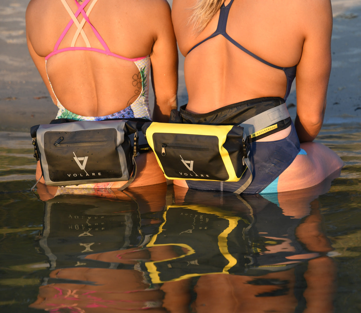 Waterproof Waist Pack - Yellow