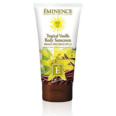 Tropical Vanilla Body Sunscreen