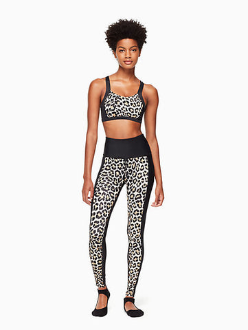 Blocked Midi Legging