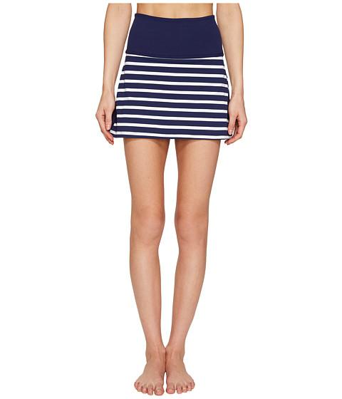 Sailing Stripe High Waisted Skort