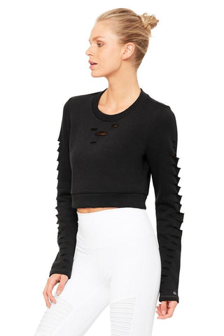 Ripped Warrior Long Sleeve Top