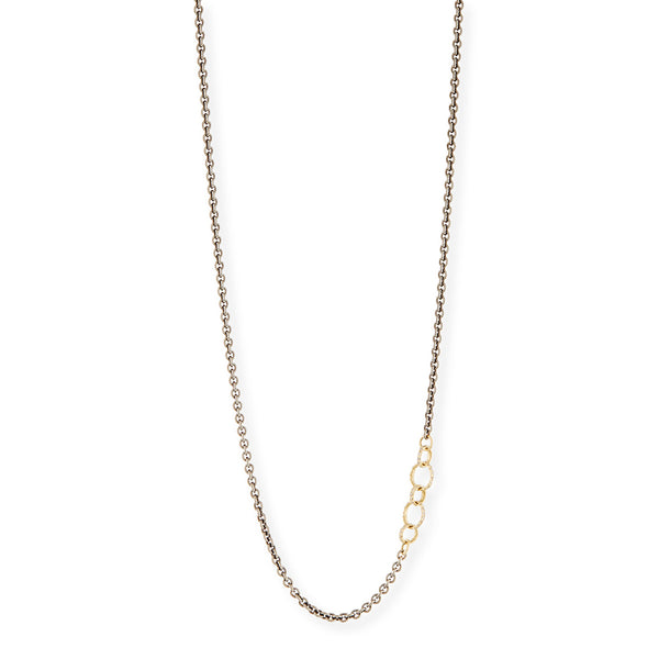 Circle Link Chain Necklace