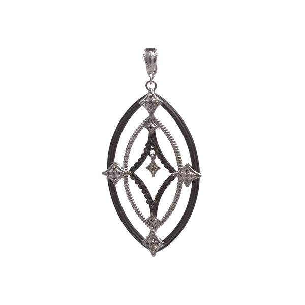 Diamond Shaped Dangle Pendant